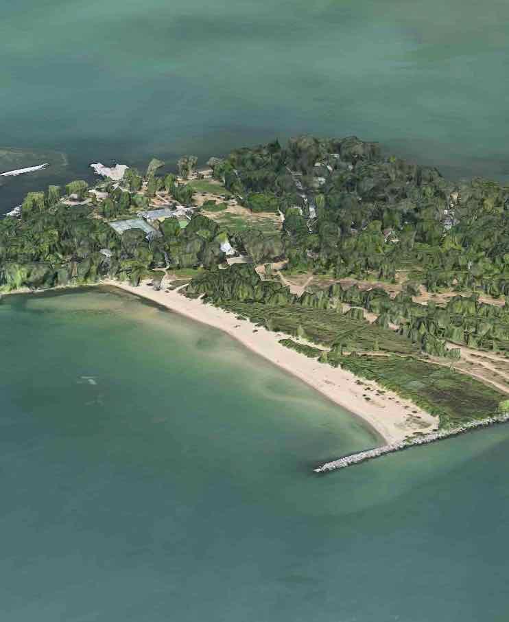 Ward's island